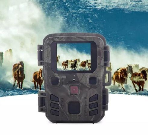 Câmera gravação impermeável FullHD 12MP Mini-301 visão noturna (Novo)