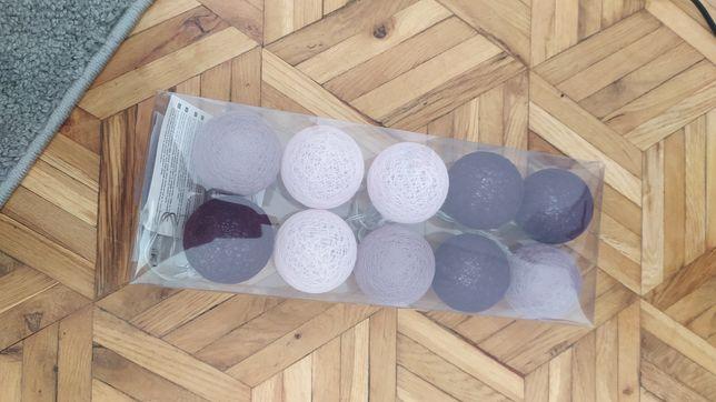 Cotton balls (fioletowe i niebieskie)