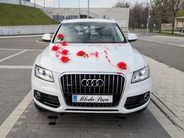 Wynajem samochodu auta do ślubu AUDI Q5 wesele auto - Śląsk