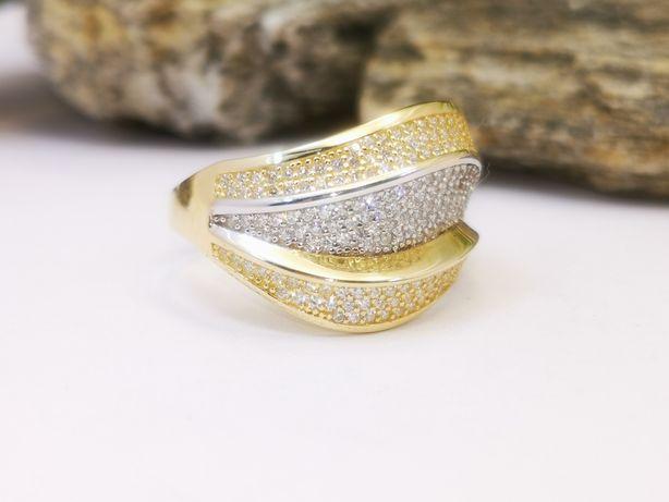 Złoty pierścionek Fala Złoto Pr. 585!!!