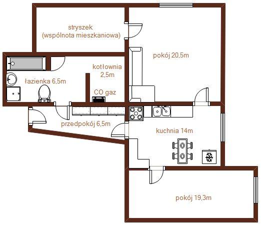 Mieszkanie na sprzedaż w Ząbkowicach Śląskich