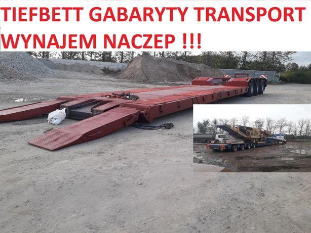Transport Maszyn Budowlanych Niskopodwoziowy Gabaryty Ponadnormatywny