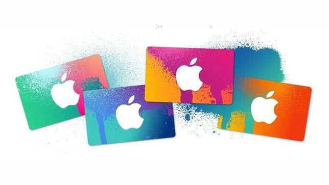 ITunes Gift Card 5,10,15,25,50 до 100$ на App Store сертификаты, карты