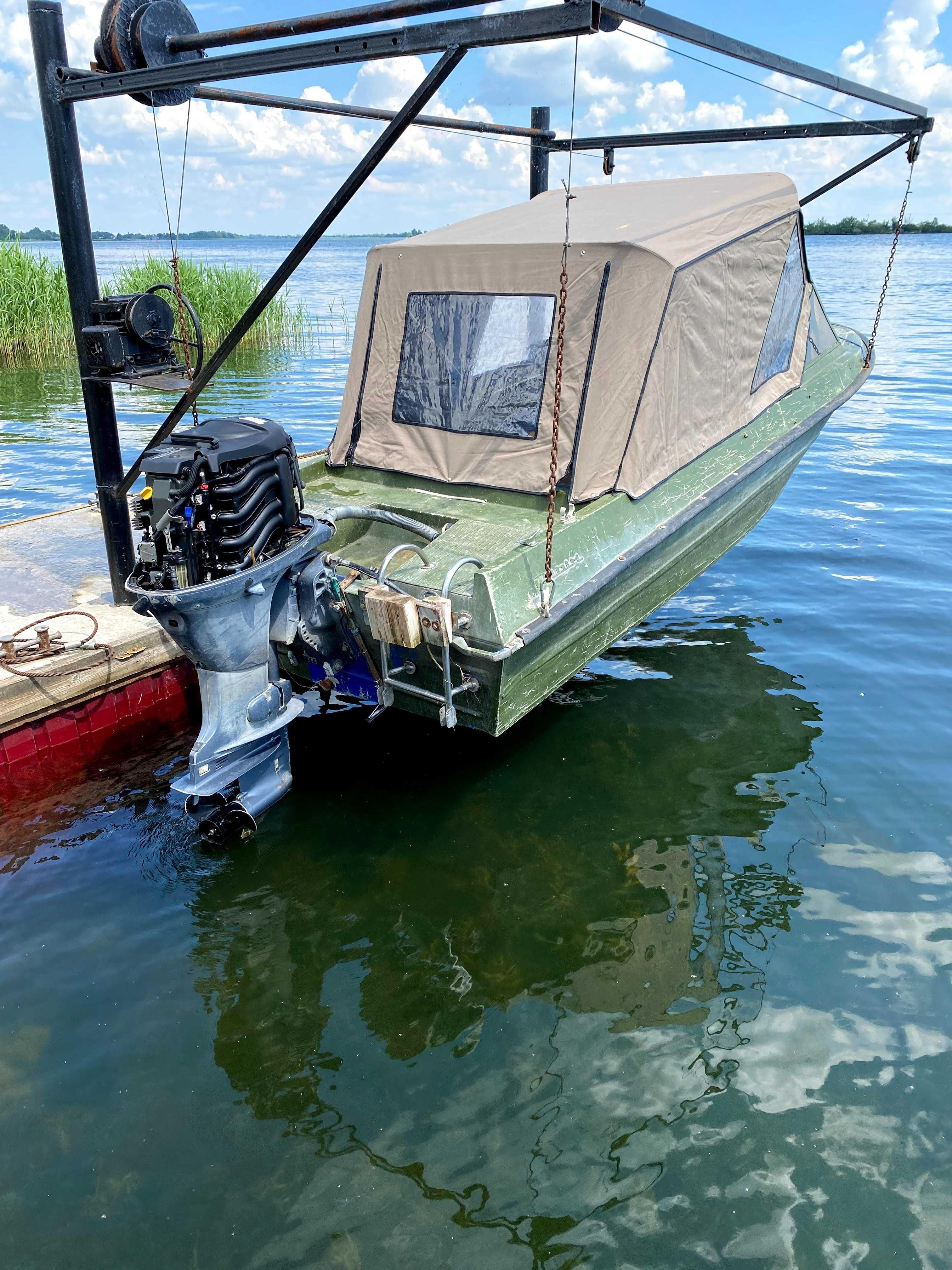 Лодка крым  + YAMAHA F 60, 2015 год