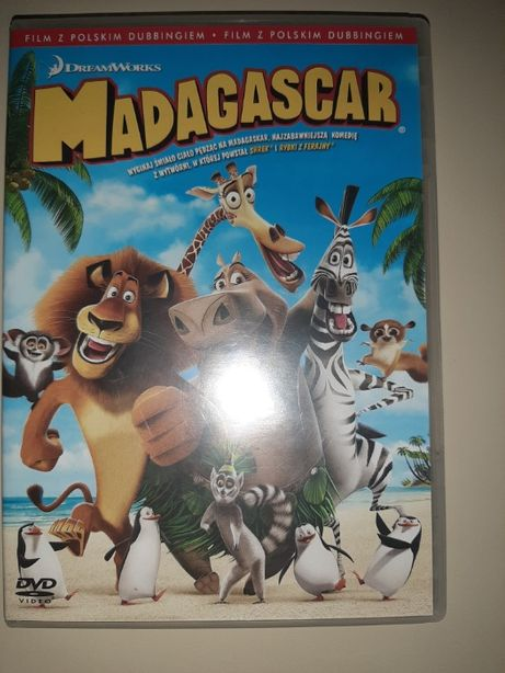 Film DVD Madagascar