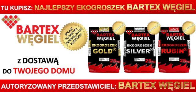 ekogroszek Bartex GOLD pellet Trak Garbatka węgiel drewno kominkowe