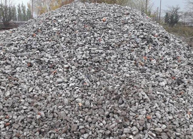 Gruz betonowy ceglano betonowy kruszywo drogowe mielone tłuczeń