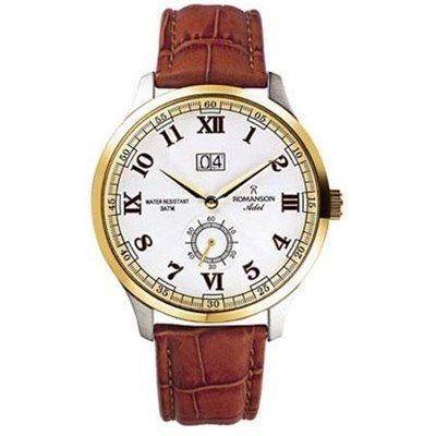 Швейцарские часы Romanson Adel TL3546MX Романсон Позолота БУ На ходу
