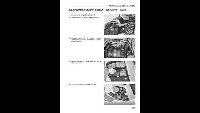 Deutz Fahr Agrotron 130 do 165 polska instrukcja napraw!