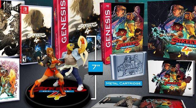 Street of rage 4 colecionador apenas 1500 exemplares Nintendo Switch