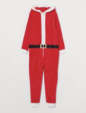 Флисовый комбинезон/ домашний костюм/пижама. Рост158/170 см