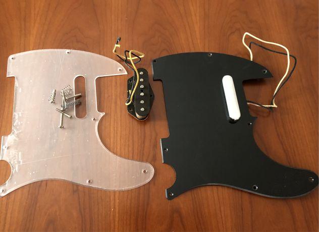 Pickups Fender Telecaster + pickguard