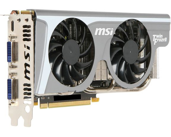 Видеокарта MSI GeForce GTX 560 Ti Twin Frozr II/OC