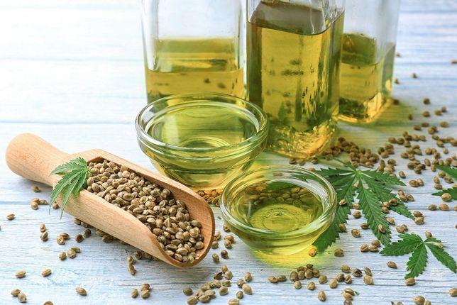 Olej z nasion konopi 1L– spożywczy - Polskie Konopie, na zimno