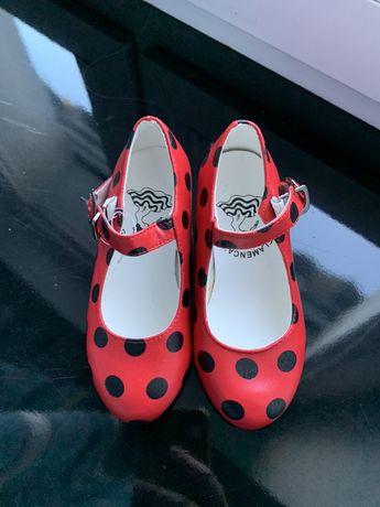 Buty do tańca flamenco nowe 24-16 cm Flamenca's