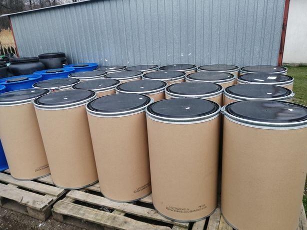 Beczki na zboże 200 litrów tekturowe pasza ziarno kukurydza mąka silos