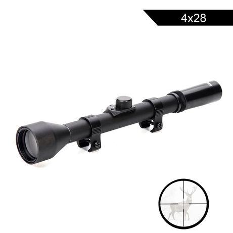 Mira telescópica para arma de precisão sniper 4x20 nova na caixa