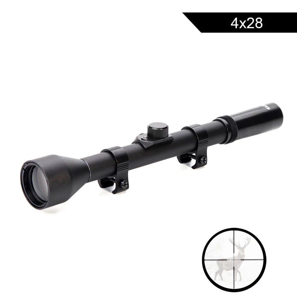 Mira telescópica para arma de precisão sniper - nova na caixa