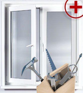 Установка и ремонт металлопластиковых окон