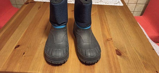 Buty zimowe, śniegowce rozm.34-35