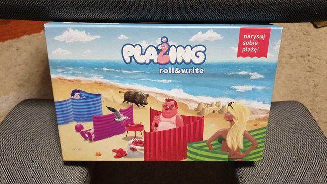 Gra planszowa Flamingo Smart Plażing Roll&Write wspieram.to