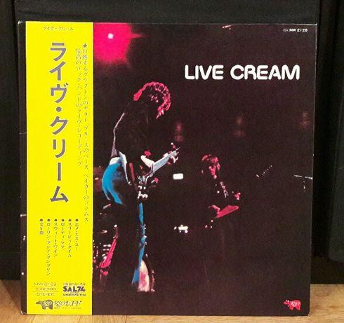 Cream - 'Live Cream' (winyl, wyd japońskie)