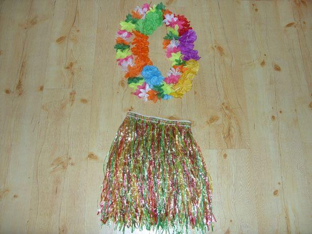 3, Hula Hawajska spódniczka łańcuch z kwiatów strój kostium