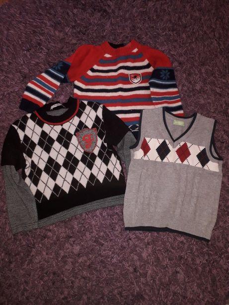 Теплый свитер 1,5-2года