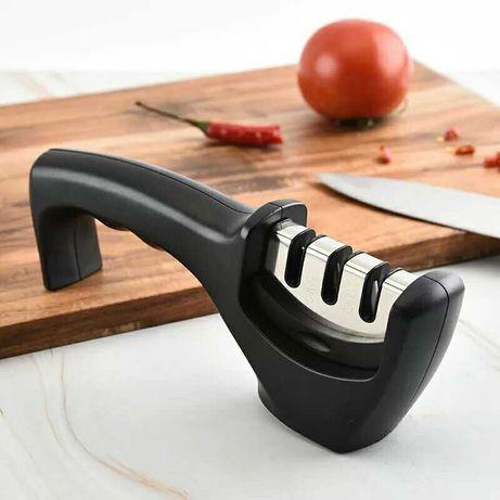 Точилка для ножей гострилка заточка ручная механическая точило