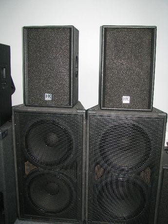 zestaw nagłośnieniowy 2x 1500W RMS Hk Audio,Jbl .Img Stage Line