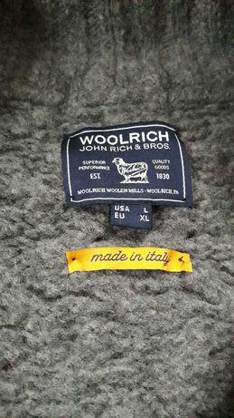 Винтажный кардиган woolrich