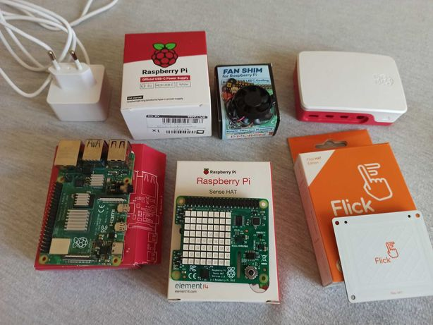Raspberry Pi 4 2GB + akcesoria