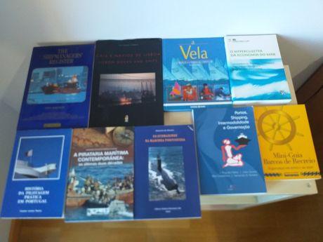 Livros Navios, Portos, Submarinos,Marinha, Pirataria Marítima,Veleiros