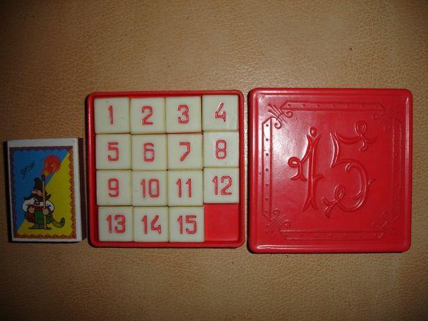 Игра/гра-головоломка 15-ка, раритет часів срср, без дефектів