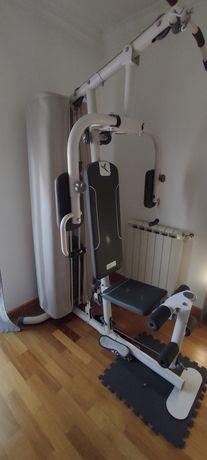 Máquina musculação multifunções