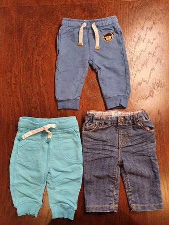 Spodnie dresowe chłopięce rozmiar 62