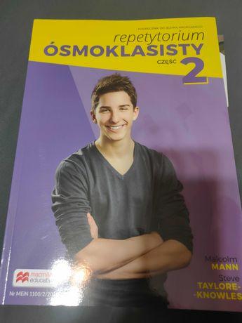 Repetytorium ósmoklasisty cz.2 - angielski - podręcznik nauczyciela