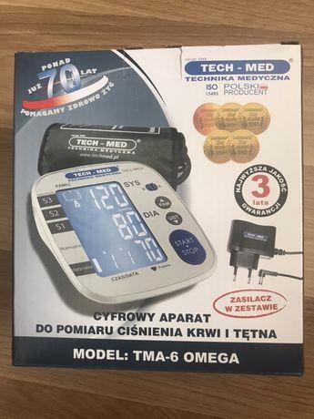 NOWY TECH-MED TMA-6 OMEGA ciśnieniomierz cyfrowy automatyczny Microlif