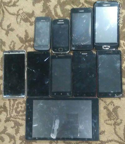 Телефоны одним лотом