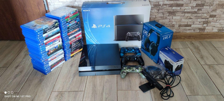 Sony PS4 PlayStation 4 Duzo Gier Kamera Zamiana Xbox one 360 Ps3 Pro 3