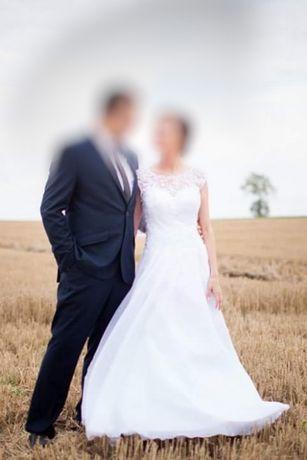 Suknia ślubna księżniczka Sarah biała