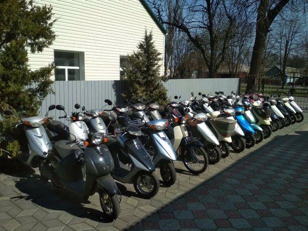 Японские скутера Yamaha, Honda, Suzuki Михайловка Запорожская обл.