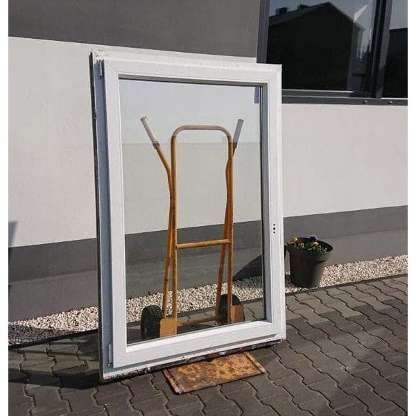Okno PCV Plastikowe 117 x 137 Używane OKNA z demontażu z Niemiec