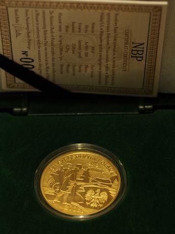 Moneta złota 200 PLN - Bolesław Prus 2012 - (złoto Au 900)