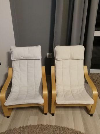 Fotel dziecięcy Ikea POANG dwie sztuki.