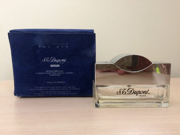 флакон мужской парфюм духи Eau De Toilette Dupont