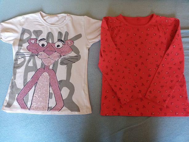 Bluzki dla dziewczynki 3-4 lata