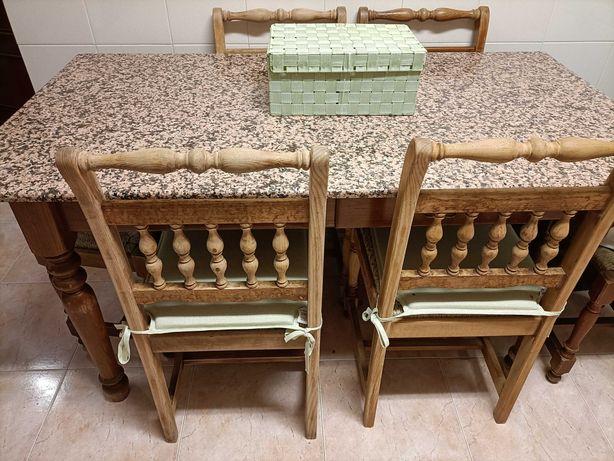 Mesa cozinha antiga para restaurar
