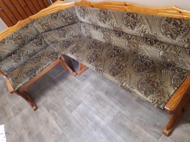 Ławka kuchenna, ława drewniana tapicerowana
