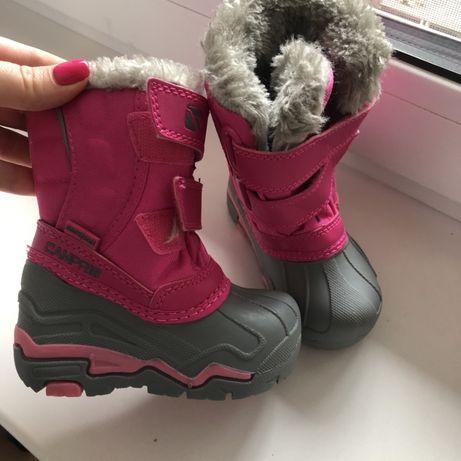 Термо ботинки 21-21,5